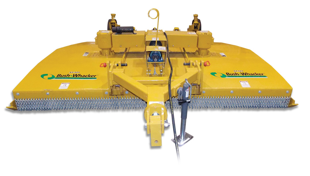 Bush-Whacker ST-121 10' Offset Smooth Top Rotary Cutter