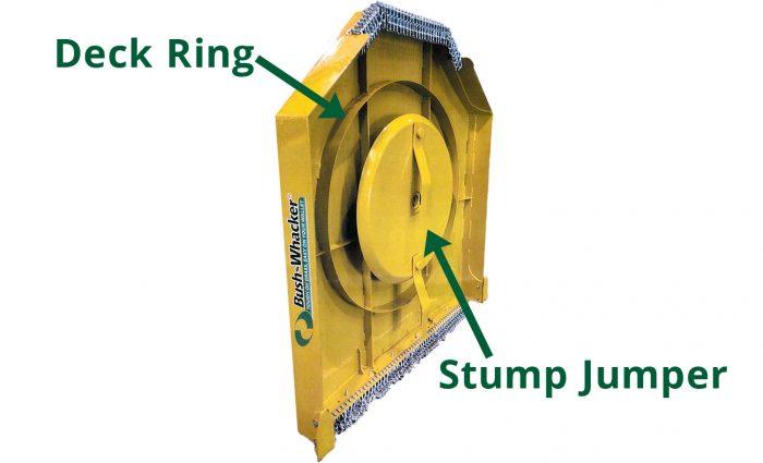 HD-60, HD-72, HD-84 deck ring and stump jumper