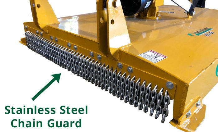 Stainless Steel Chain Guard