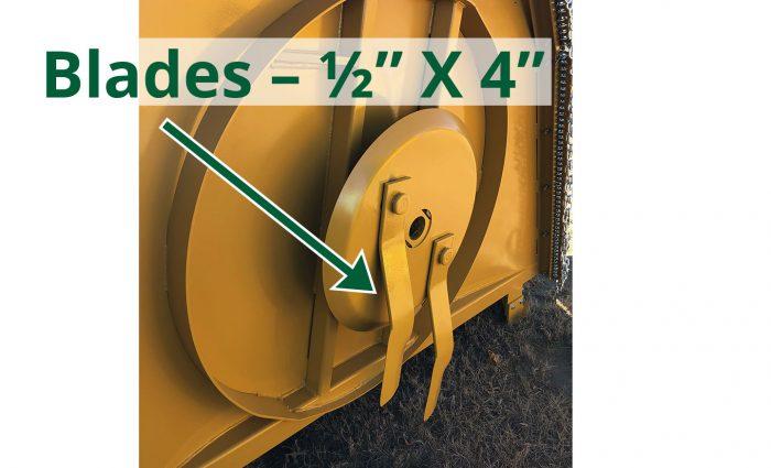 """Blades 1/2"""" x 4"""""""