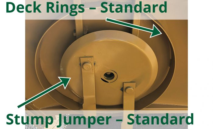 Deck ring and stump jumper standard