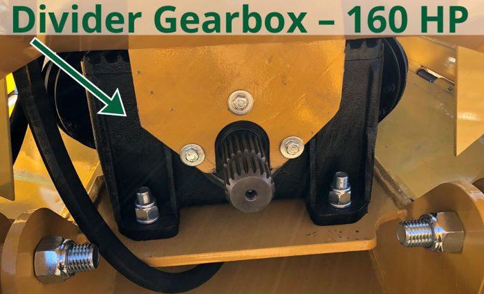 Divider gearbox - 160 HP