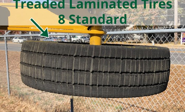 Treaded Laminated Tires ? 8 Standard