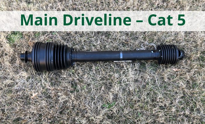 Main Driveline - Cat 5
