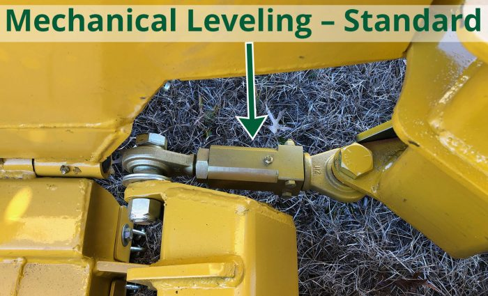 Mechanical Leveling ? Standard