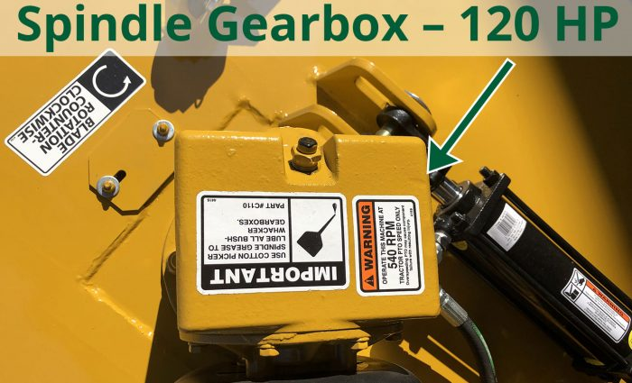 Spindle Gearbix - 120 HP