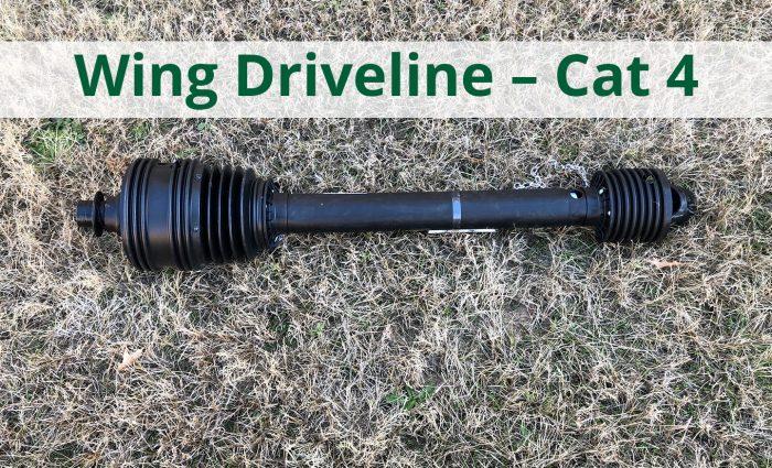 Wing Driveline - Cat 4