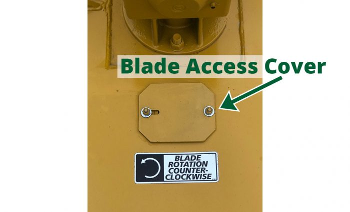 ST-104 Blade Access Cover