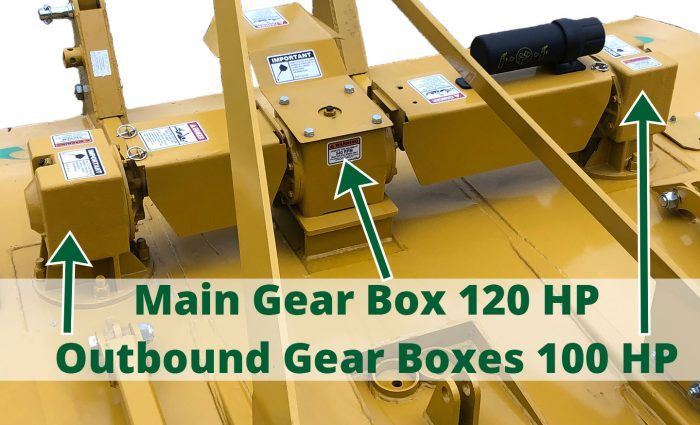 ST-104 Gear Boxes Main 120 HP, Outbound 100 HP