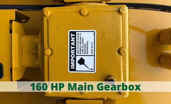 HD-121P 160 HP main gearbox