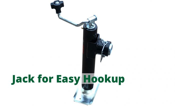 HD-121P jack for easy hookup