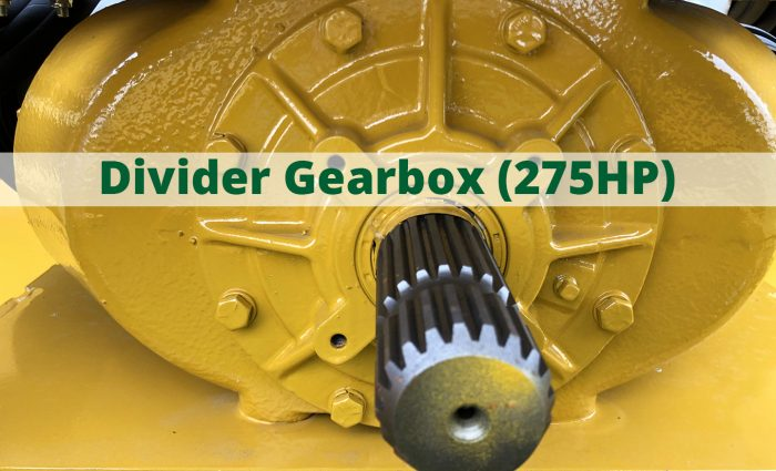 Divider GEarbox (275HP)