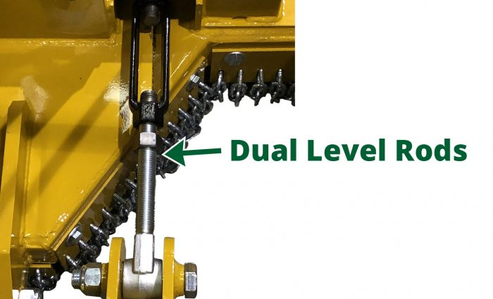 Dual Level Rods