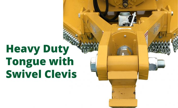 Heavy Duty Tongue with Swivel Clevis