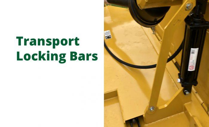 Transport Locking Bars