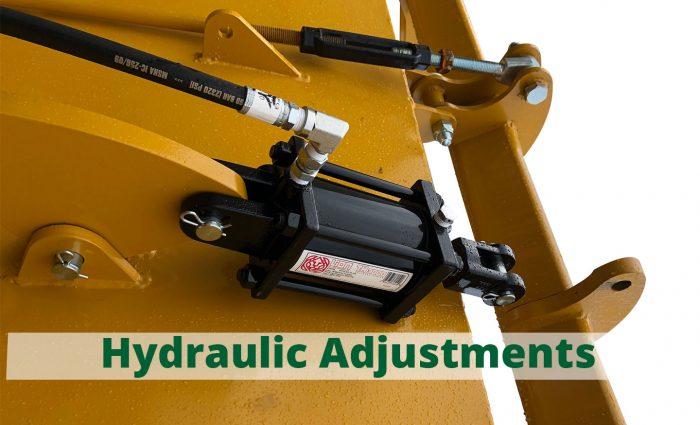 HD-121P hydraulic adjustments