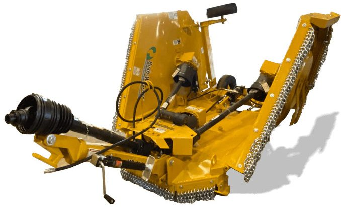 Bush-Whacker MD-144 flex wing rotarty cutter